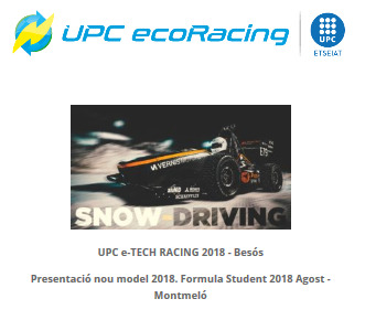 23 UPC Ecoracing